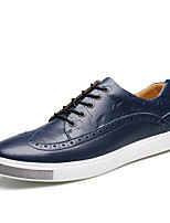 Men's Shoes Amir 2016 New Style Hot Sale Outdoor / Casual Breathable Comfort Leather Fashion Sneakers Black / Navy