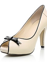 Women's Shoes Calf Hair Stiletto Heel Heels / Peep Toe / Platform Heels Wedding / Party & Evening / Dress