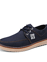 Men's Shoes Casual Denim Fashion Sneakers Blue / Gray