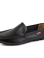 Men's Shoes Casual/Office & Career/Drive Fashion Nappa Leather Slip-on Loafers Boat Shoes 38-44