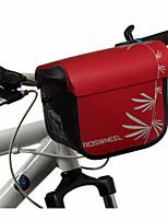 Bolsa para Guidão de Bicicleta / Bolsa de Ombro Zíper á Prova-de-Água / Á Prova de Humidade / Camurça de Vaca á Prova-de-Choque / Vestível