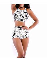 Women Sexy Triangle Bikini Digital Printing