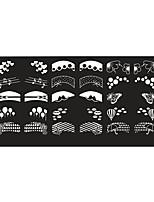 BlueZOO Ebay Blue Rectangle Nail Art Stamping (20)