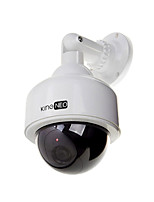 dummy speed dome camera gesimuleerd outdoor bewakingscamera 1pc wit