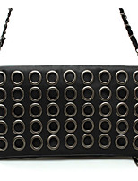 Women-Formal / Casual / Event/Party-PU-Clutch-Black