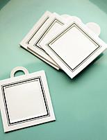 12pcs bricolaje gracias tag, etiqueta fotográfica (1,5 x 1,5 pulgadas) regalos de la fiesta de bodas materiales accesorios beter-zh037