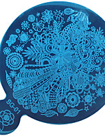 SG Series Stamping Nail Art Image Plate, Stainless Steel Template Polish Manicure Stencil Tools