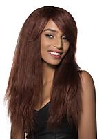 peluca de cabello humano de la onda floja super largo con estilo