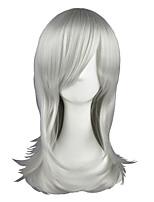 Nabari no Ou-Kurookano Shijima Silver White 22inch Anime Cosplay Wig CS-026A