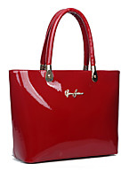 Women-Formal / Casual / Office & Career / Shopping-PU-Tote-Beige / Blue / Red / Black