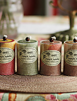 Garden Theme Candle Favors-1 Piece/Set Candles Non-personalised Red / Chocolate / Green / Yellow