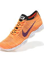 Zapatos Sneakers Tejido Amarillo Hombre