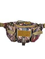 Women-Casual-Nylon-Waist Bag-Green