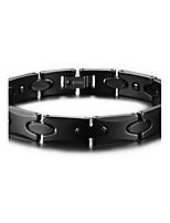Men's Jewelry Health Care Black Ceramic Hematite Bracelet