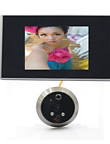 3.5 LCD Digital Video 120 Wide Angle Auto Door Viewer Eye Doorbell Camera Peephole Motion Detection Night Vision
