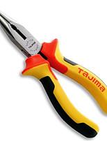 Tajima®  SHP-L8 Tri-Color Handle Needle Nose Pliers 6 inch Hardware Hand Tools