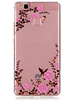 Garden Pattern TPU Material Phone Case for Huawei P9/P9 Lite