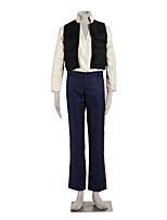 Star Wars Male Cosplay Cosplay Costumes Vest / Shirt / Pants