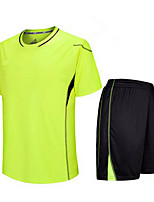 Others Men's Short Sleeve Soccer Clothing Sets/Suits Breathable / Quick Dry / Wicking Others Fitness  / Running