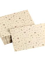 arbre enveloppe de carte postale de la feuille (10 pièces)