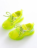 Boys' Shoes Athletic / Casual Leatherette Fashion Sneakers Green / Red / White
