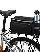 Mala para Bagageiro de Bicicleta/Alforje para Bicicleta / Bolsa de Ombro Á Prova-de-Água / Camurça de Vaca á Prova-de-Choque / Vestível