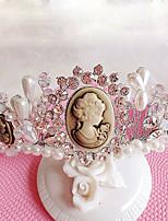 נזרים כיסוי ראש נשים / נערת פרחים חתונה / אירוע מיוחד / חוץ ריינסטון / דמוי פנינה חתונה / אירוע מיוחד / חוץ חלק 1