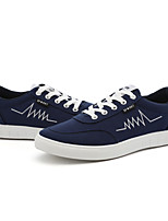 Men's Shoes Casual Canvas Fashion Sneakers Black / Blue / White / Gray