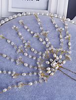 Mujer Perla / Diamantes Sintéticos / Aleación Celada-Boda / Ocasión especial Pasador de Pelo 1 Pieza