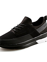 Men's Shoes Fleece Casual / Athletic Fashion Sneakers Casual / Athletic Flat Heel Black / Red / White