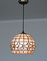 10 inch Retro Tiffany Pendant Lights Shell Shade Living Room Dining Room light Fixture