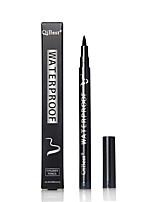 Eyeliner Crayons Sec Dense / Gloss coloré / Naturel / Other / Respirable Noir Yeux 1pcs 1 Others