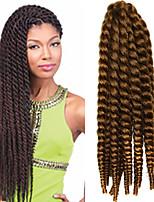 12-24 inch Crochet Braid Havana Mambo Afro Twist Hair Extension 27# with Crochet Hook