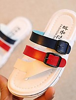 Girls' Shoes Casual Slippers Sandals Red / White