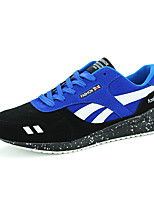 Men's Shoes Fleece Athletic Fashion Sneakers Athletic Flat Heel Black / Blue / Red