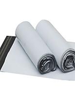 blanc épaissi imperméable sac d'emballage de la logistique (38 * 51cm, 100 / paquet)