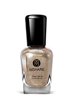 Mshare Pregnant Women with Children Available Gold 15ML Nail Polish for 2 Years