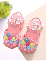 Girls' Shoes Casual Comfort PU Sandals Pink / White
