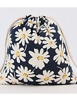 Unisex-Professioanl Use-Cotton-Storage Bag-Blue / Black
