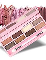 8 Palette de Fard à Paupières Sec Fard à paupières palette Poudre Compact Normal Maquillage Quotidien