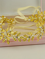 Women's Pearl / Rhinestone / Crystal / Alloy Headpiece-Wedding / Special Occasion Headbands 1 Piece