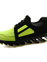 Men's Shoes Casual Tulle Fashion Sneakers Black / Blue / Green