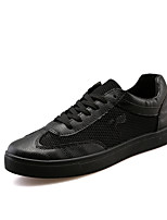 Men's Shoes EU39-EU44 Casual/Travel/Outdoor Fashion Microfiber Tulle Leather Sneakers Board Shoes