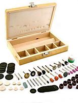 100 Pcs Rotary Tool Box of Assorted 1/8