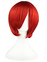 VOCALOID-AKAITO Dark Red 14inch Anime Cosplay Wig CS-002D
