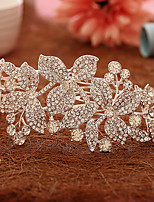 Women's Rhinestone / Alloy Headpiece-Wedding / Special Occasion Hair Combs / Flowers 1 Piece