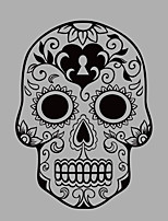 Shapes Sugar Skull Wall Stickers Vintage / Fantasy / 3D Wall Stickers Plane Wall Stickers,vinyl 78*57cm