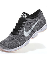 Nike Flyknit Zoom Agility Training Men's Sneaker Shoes Fabric Blue / Gray / Black and White