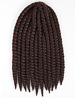 #33 Havanna Twist Braids Haarverlängerungen 12 Kanekalon 2 Strand 80 Gramm Haar Borten