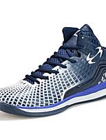 Zapatos de Hombre-Sneakers a la Moda-Deporte-PU-Azul / Negro / Naranja